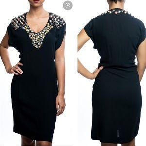 Yves Saint Laurent Edition 24 beaded black dress